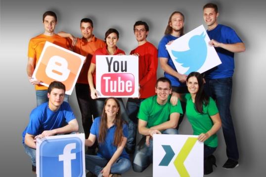 Social Media Gruppe